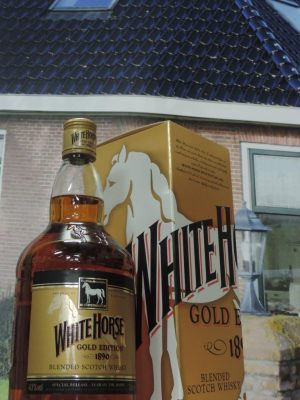 white horse gold edition