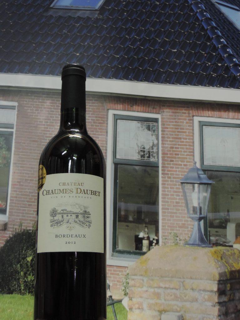 château chaumes daubet 2012 bordeaux
