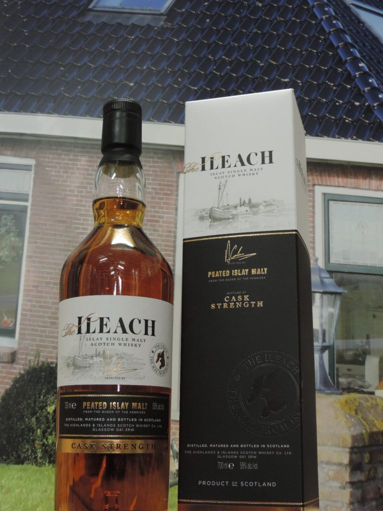 ileach cask strength islay