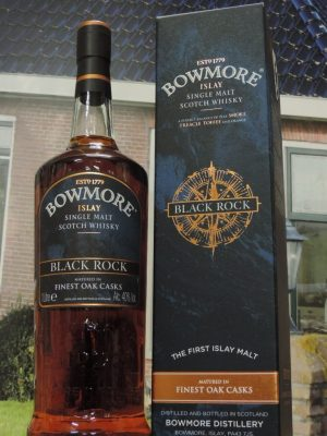 bowmore black rock liter