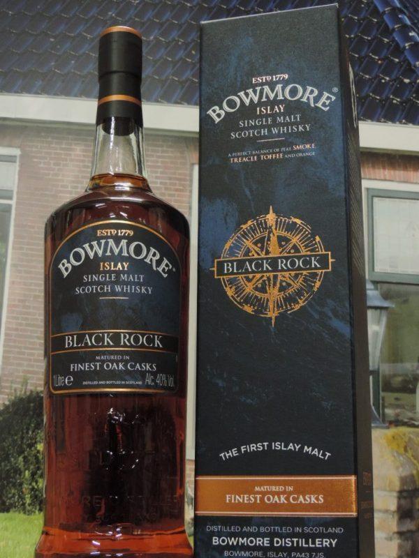bowmore black rock liter