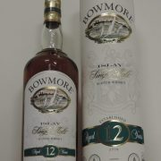 bowmore 12 years old bottle liter